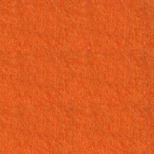 Moqueta ferial para eventos color naranja